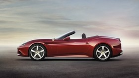 ferrari, california t, ferrari california t, red, side view, convertible - wallpapers, picture