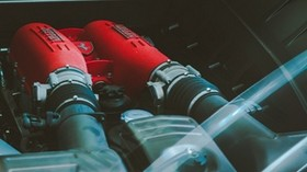 ferrari, engine, engine, machine, sports - wallpapers, picture