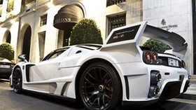 ferrari, enzo, aston martin, white, hotel, ferrari - wallpapers, picture