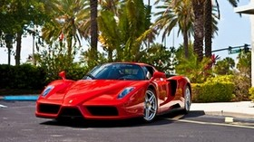 ferrari, enzo, red, enzo, red, ferrari - wallpapers, picture