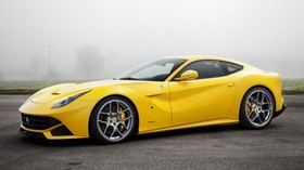 ferrari, f12, yellow, novitec rosso - wallpapers, picture