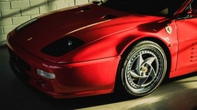 ferrari, f512 m, side view, red - wallpapers, picture