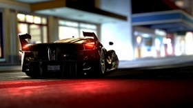 ferrari fxx-k, ferrari, sports car, rear view, lights - wallpapers, picture