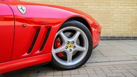 ferrari, wheel, tire, side view - wallpapers, picture