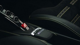 ferrari, machine, salon, black, buttons - wallpapers, picture