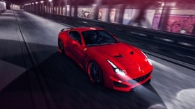 ferrari, pininfarina, novitec rosso, red, speed - wallpapers, picture