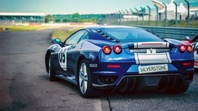 ferrari, pirelli, car, rear view - wallpapers, picture