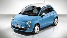 fiat, 500, vintage, 1957, side view - wallpapers, picture