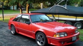 ford, 1993, foxbody, mustang - wallpapers, picture