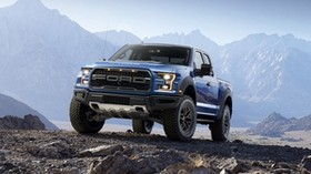 ford, f-150, raptor, pickup, stones - wallpapers, picture