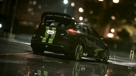 ford focus rs, ford focus, ford, rain - wallpapers, picture