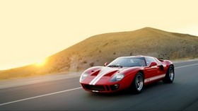 ford, gt40, mki, superformance, 2007, red, sports car - wallpapers, picture