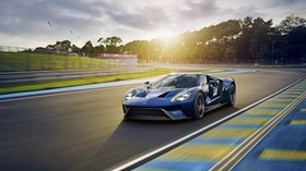 ford, gt, sports car, track - wallpapers, picture