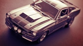 ford, mustang, auto, movement - wallpapers, picture