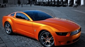 ford, mustang, traffic, street - wallpapers, picture