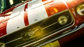 ford mustang, fastback, 1967, bumper - wallpapers, picture