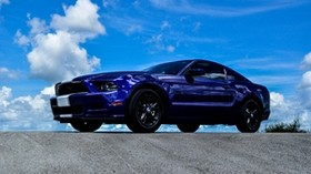 ford mustang, ford, side view - wallpapers, picture
