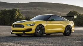 ford, mustang, gt350, shelby, yellow - wallpapers, picture