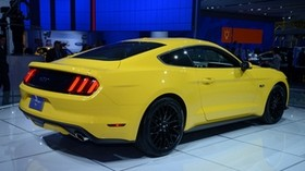 ford, mustang, gt, detroit, 2014 - wallpapers, picture