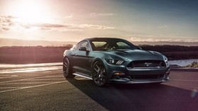 ford mustang gt, ford, side view, sports car - wallpapers, picture
