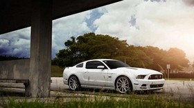 ford, mustang, vossen, wheels, cvt - wallpapers, picture