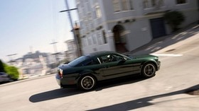 ford, mustang, green - wallpapers, picture