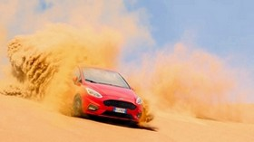 ford, sand, drift, desert - wallpapers, picture