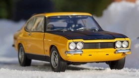 ford, side view, snow, model - wallpapers, picture