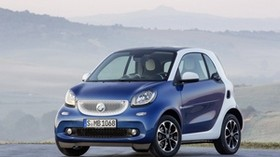 fortwo, smart, mini, car, compact car, 2015 - wallpapers, picture