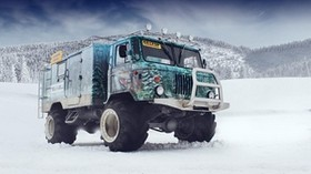 gaz 66, off road, gas 66, tuning, airbrushing - wallpapers, picture