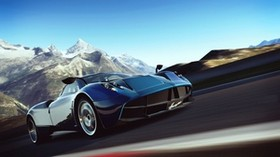 gran turismo-6, car simulator, speed, art, pagani huayra - wallpapers, picture