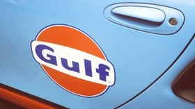 gulf, auto, the inscription, the door - wallpapers, picture