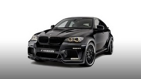 hamann, bmw, x6m, e71, black, side view - wallpapers, picture