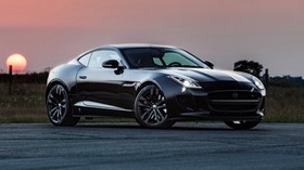 hennessey, jaguar, f-type r, side view - wallpapers, picture
