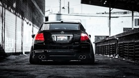 honda, accord, acura, rear view - wallpapers, picture