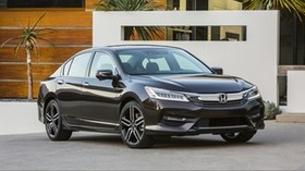 honda, accord, touring, us-spec, front view - wallpapers, picture