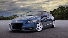 honda, crz, side view, wheels - wallpapers, picture