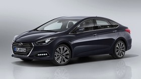 hyundai i40, sedan, side view - wallpapers, picture