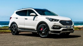 hyundai, santa fe, crossover - wallpapers, picture