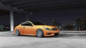 infiniti, g-series, g37, orange, auto, style - wallpapers, picture