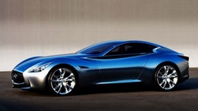 infiniti, infiniti essence, side view, style - wallpapers, picture