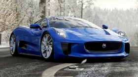 jaguar c-x75, jaguar, sports car, supercar - wallpapers, picture