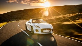 jaguar f-type, jaguar, sports car, supercar, sunlight - wallpapers, picture