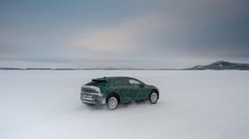 jaguar i-pace, jaguar, snow, winter, off-road - wallpapers, picture