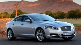 jaguar, xf, sulfur, auto, side view - wallpapers, picture