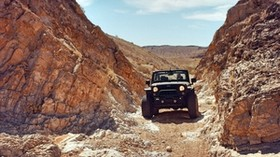 jeep, SUV, rocks, desert - wallpapers, picture