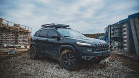 jeep, SUV, side view, dirt - wallpapers, picture