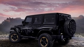 jeep, wrangler, dragon, concept, auto, black, dragon, SUV - wallpapers, picture