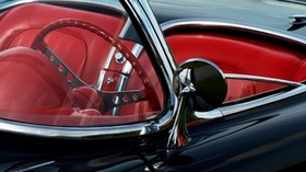 convertible, auto, glass, mirror, seats - wallpapers, picture