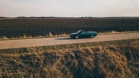 convertible, trip, travel, field, horizon - wallpapers, picture